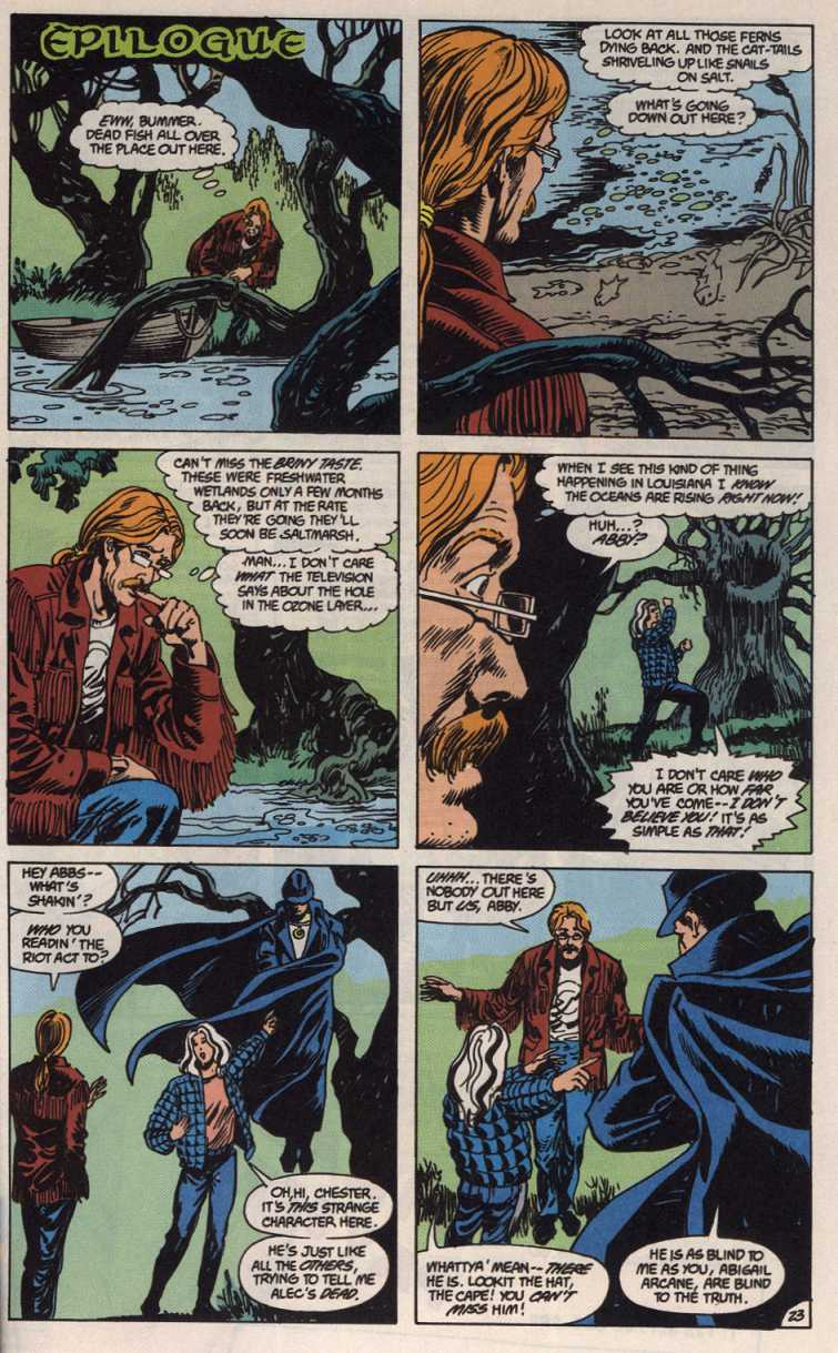 Swamp Thing (1982) Issue #83 #91 - English 23