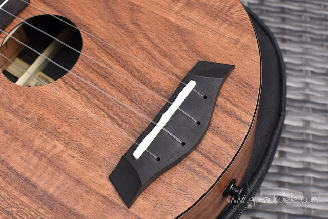 Enya EUR-X1 Ukulele bridge