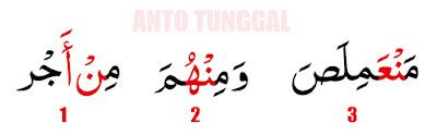 Contoh Bacaan Izhar Halq