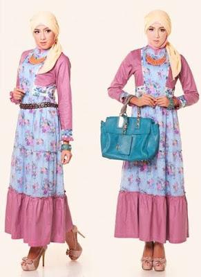 model baju batik modern hijab trendy