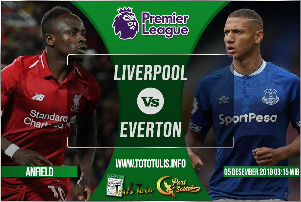 Prediksi Liverpool vs Everton 05 Desember 2019