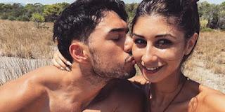 Alessio Stigliano e la fidanzata