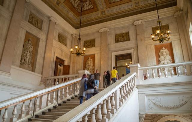 Turismo nos museus em Veneza