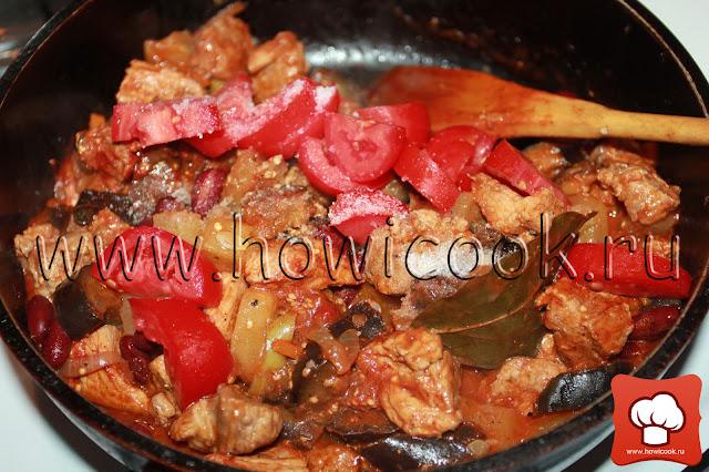 рецепт вкусного мясного рагу с мясом и овощами