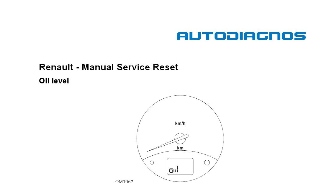 Renault Service Manual Free Manual Service Reset Oil border=