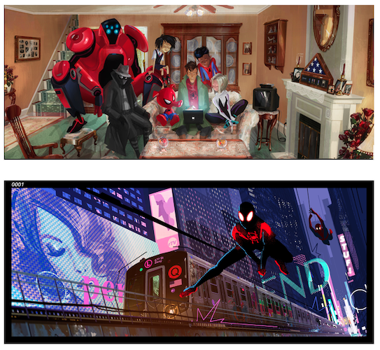 Spider-Man: Into the Spider-Verse Concept Art