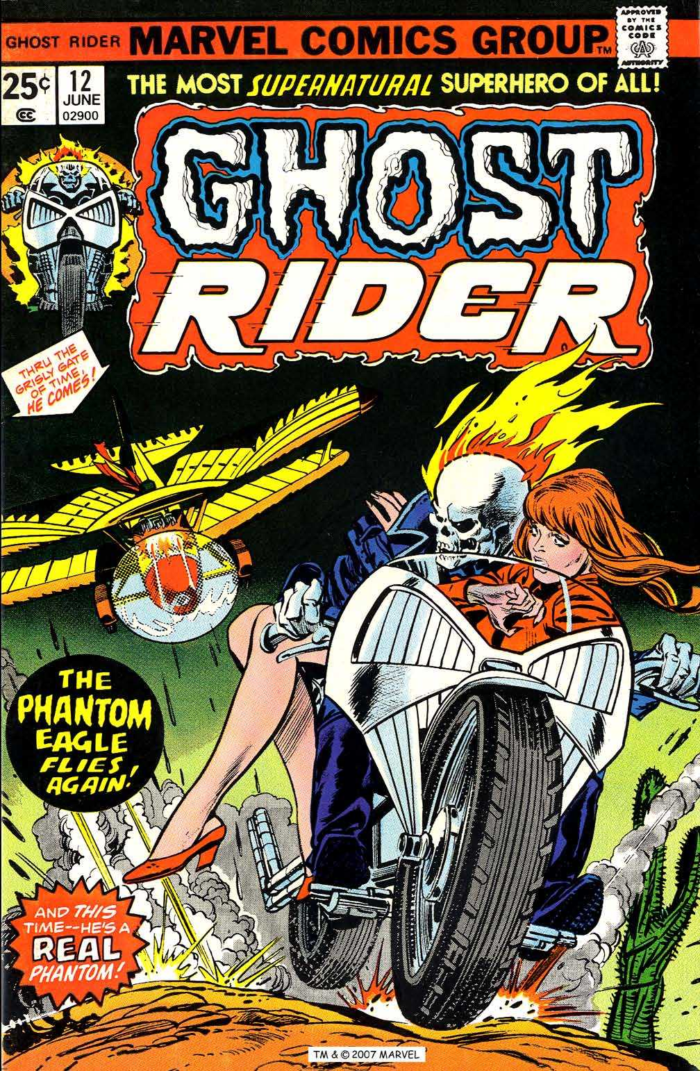 Ghost Rider (1973) Issue #12 #12 - English 1