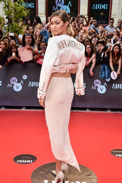 Gigi Hadid at the 2015 Much Music Video Awards in Toronto, Canada. Photo: George Pimentel/WireImage