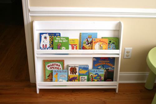 Sunshine, Lollipops, and Rainbows: Finished Bookshelf