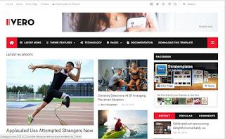 ivero best blogger templates