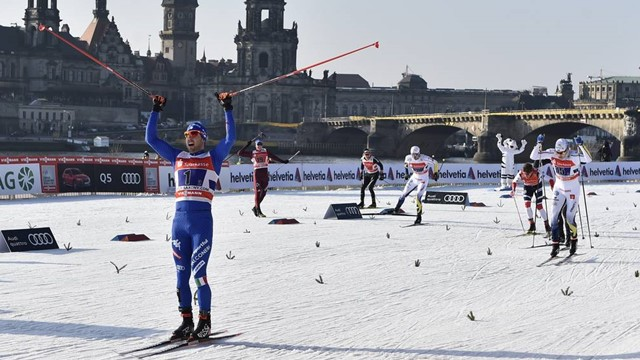 Federico Pellegrino volta a vencer no Esqui Cross-Country