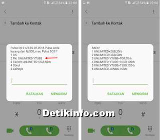 format beli paket unlimited youtube im3