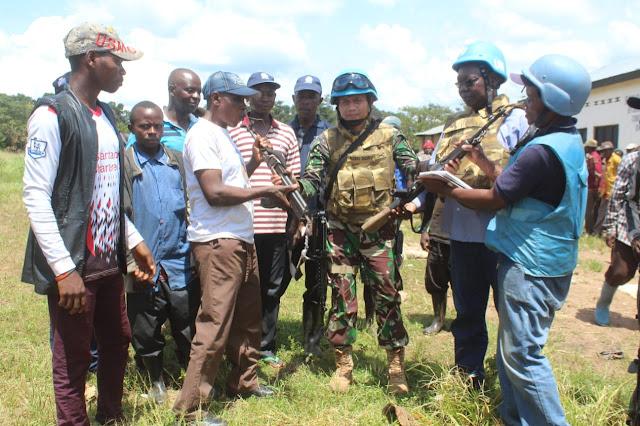 Ex-Combatan Kembali Serahkan Senjata di Republik Demokratik Kongo