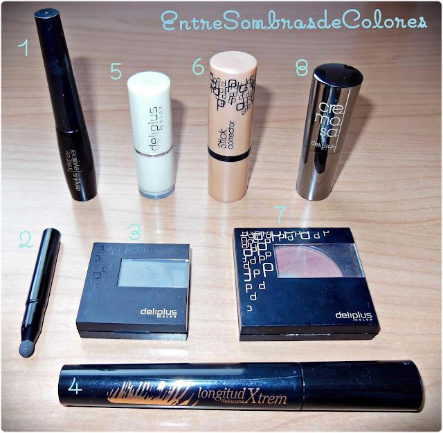Maquillaje low cost Deliplus (mercadona)
