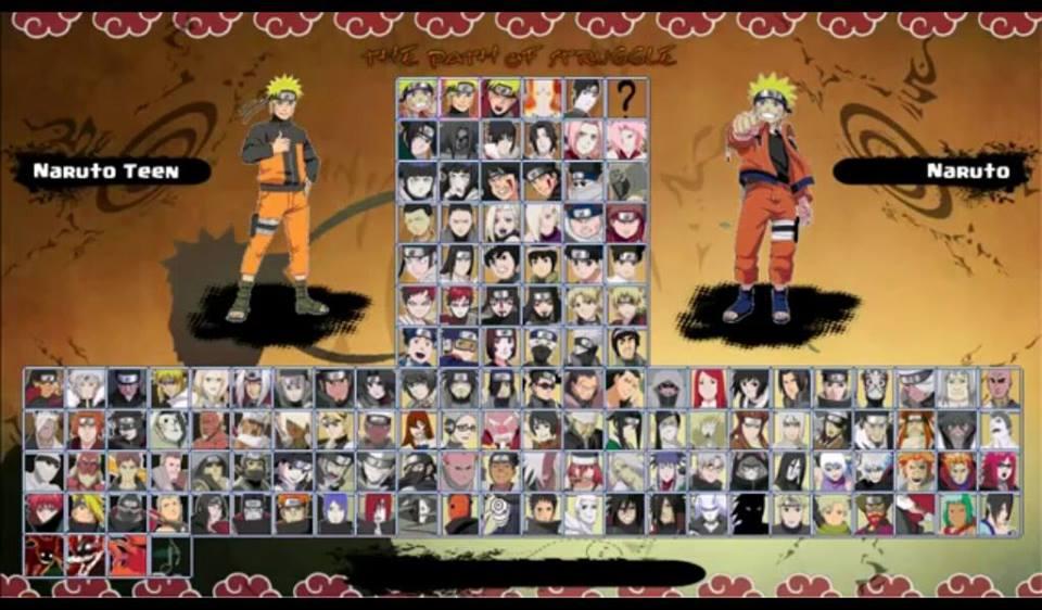 download naruto senki full character terbaru
