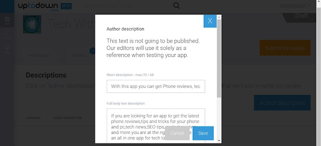 How to submit your app to Uptodown