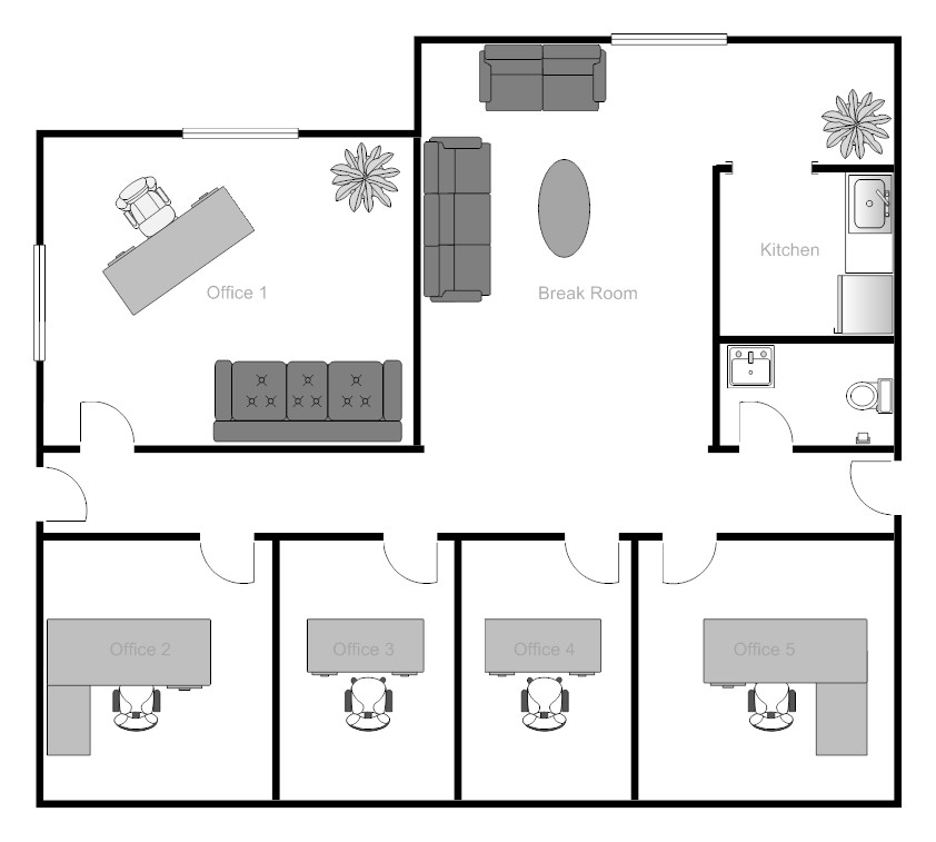 foundation dezin decor office floor plans