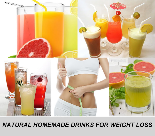 healthy homemade weight loss drinks