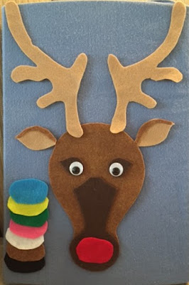 Rudolph flannel board Christmas storytime