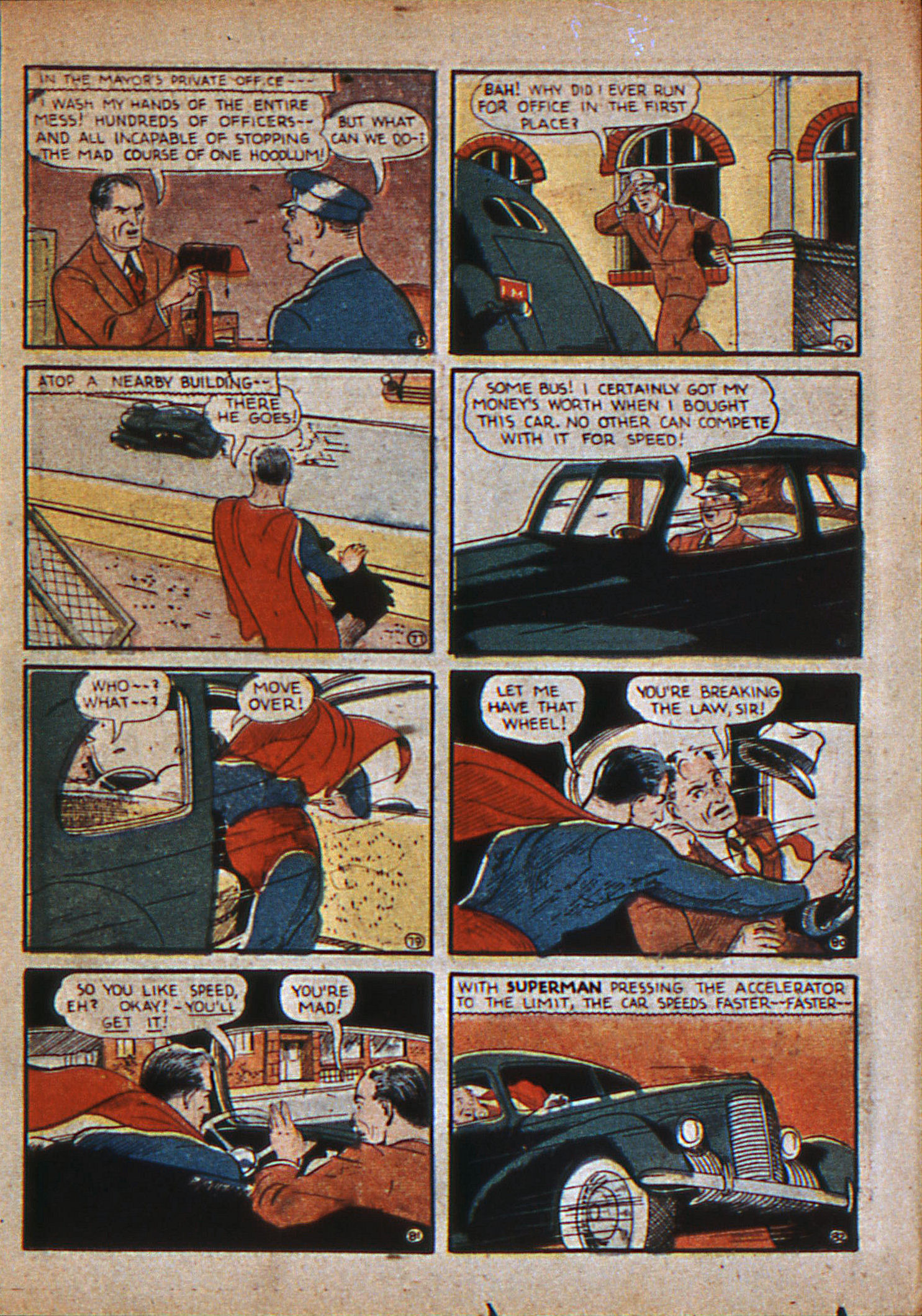 Read online Action Comics (1938) comic -  Issue #12 - 14