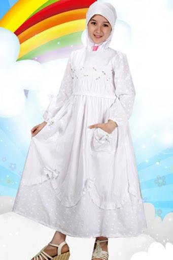 21 Model Baju Muslim Anak Perempuan Terbaru 2019 Modis Simple Dan Syar I
