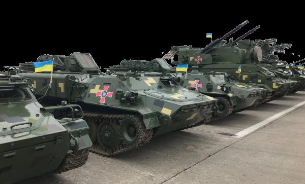 Відомості щодо надходження ОВТ до Збройних Сил та інших військових формувань України