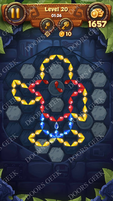 Gems & Magic [Malachite] Level 20 Solution, Walkthrough, Cheats