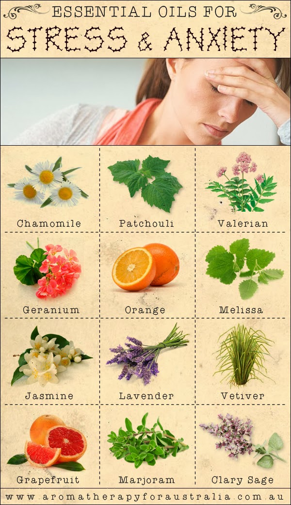 Aromatherapy For Australia 12 Essential Oils For Stress Anxiety