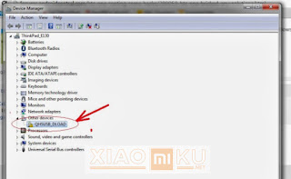 device manager usb hp xiaomi