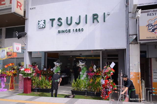TSUJIRI, Japanese Green Tea Drinks and Desserts @ Damansara Uptown