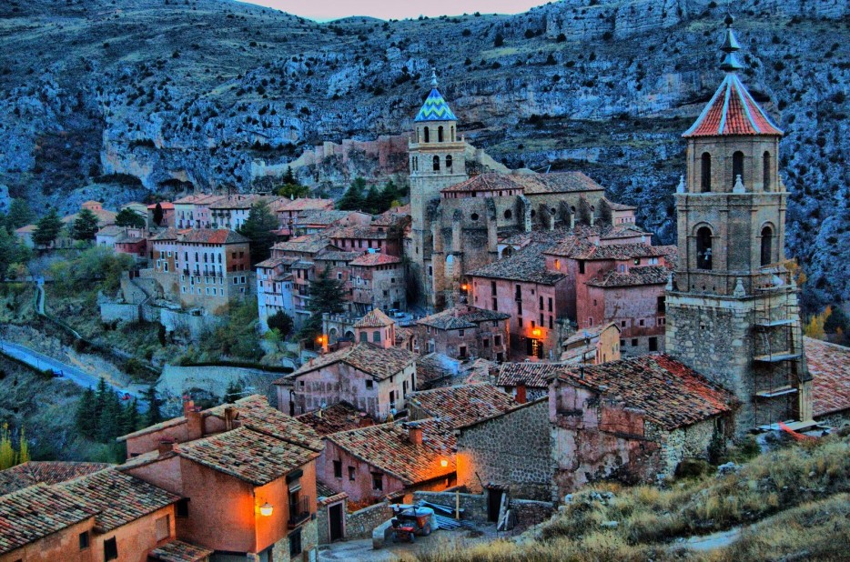 ALBARRACIN IN ARAGON, SPAIN