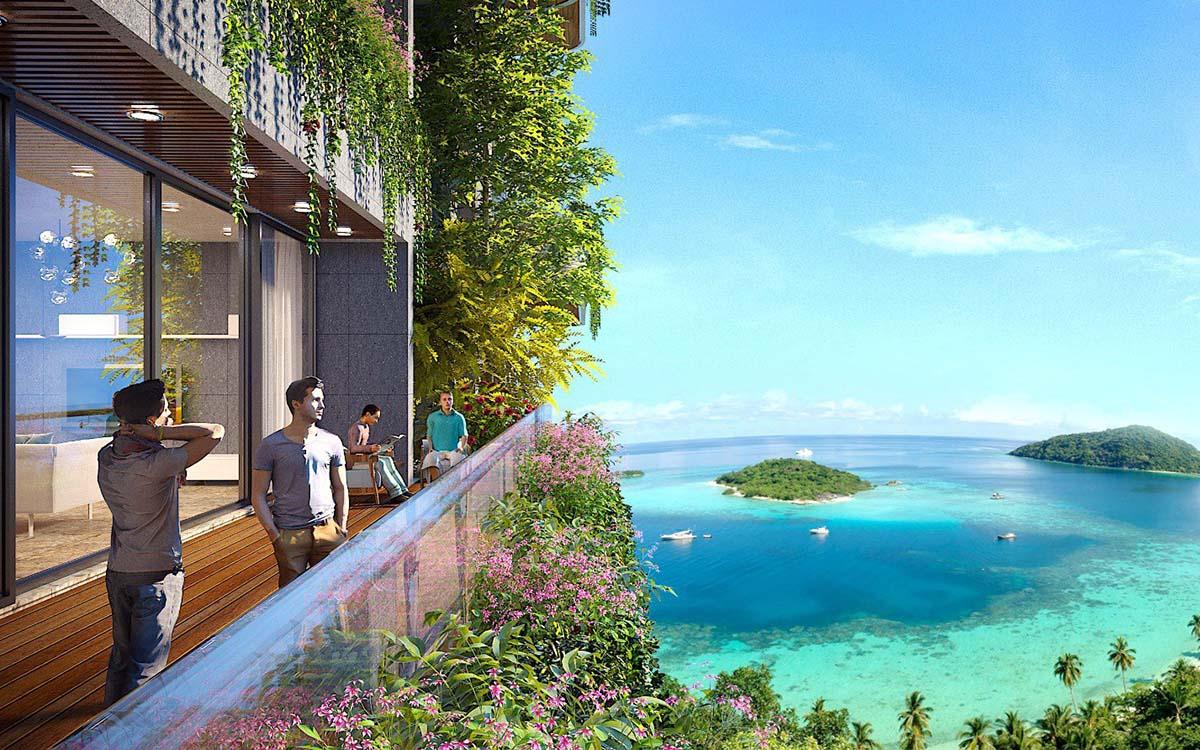 Căn hộ Flamingo Cat Ba Beach Resort