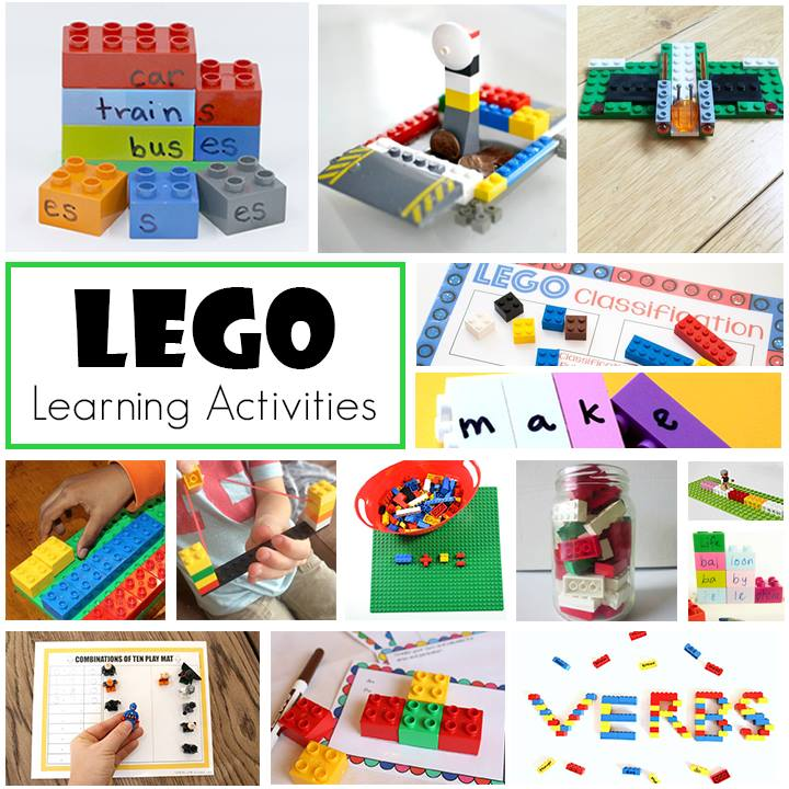 Learn Area and Perimeter Using LEGOs | School Time Snippets
