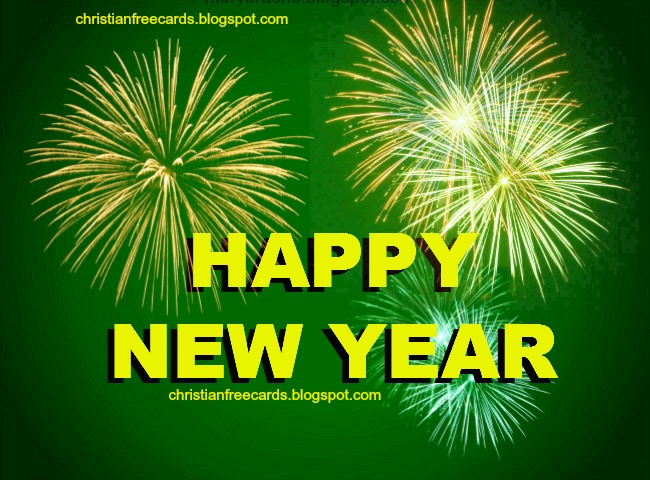 Happy New Year with Blessings. Free christian quotes images for facebook friends, new year 2014 messages, free life quotes, achieve goals in life, free images.