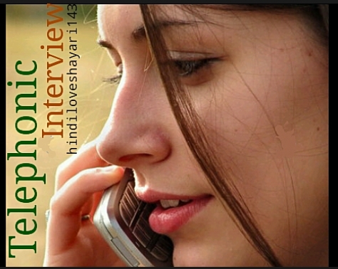 Telephonic-Interview with girl