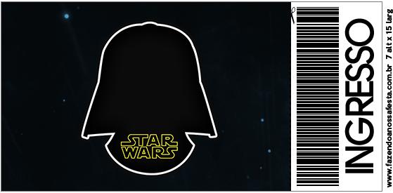Star Wars Free Printable Invitations - Oh My Fiesta! for Geeks - free printable ticket invitations