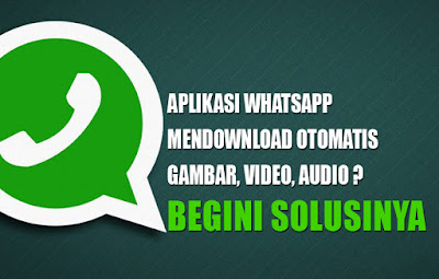 Gambar Video Tersimpan Otomatis di WhatsApp Begini Solusinya