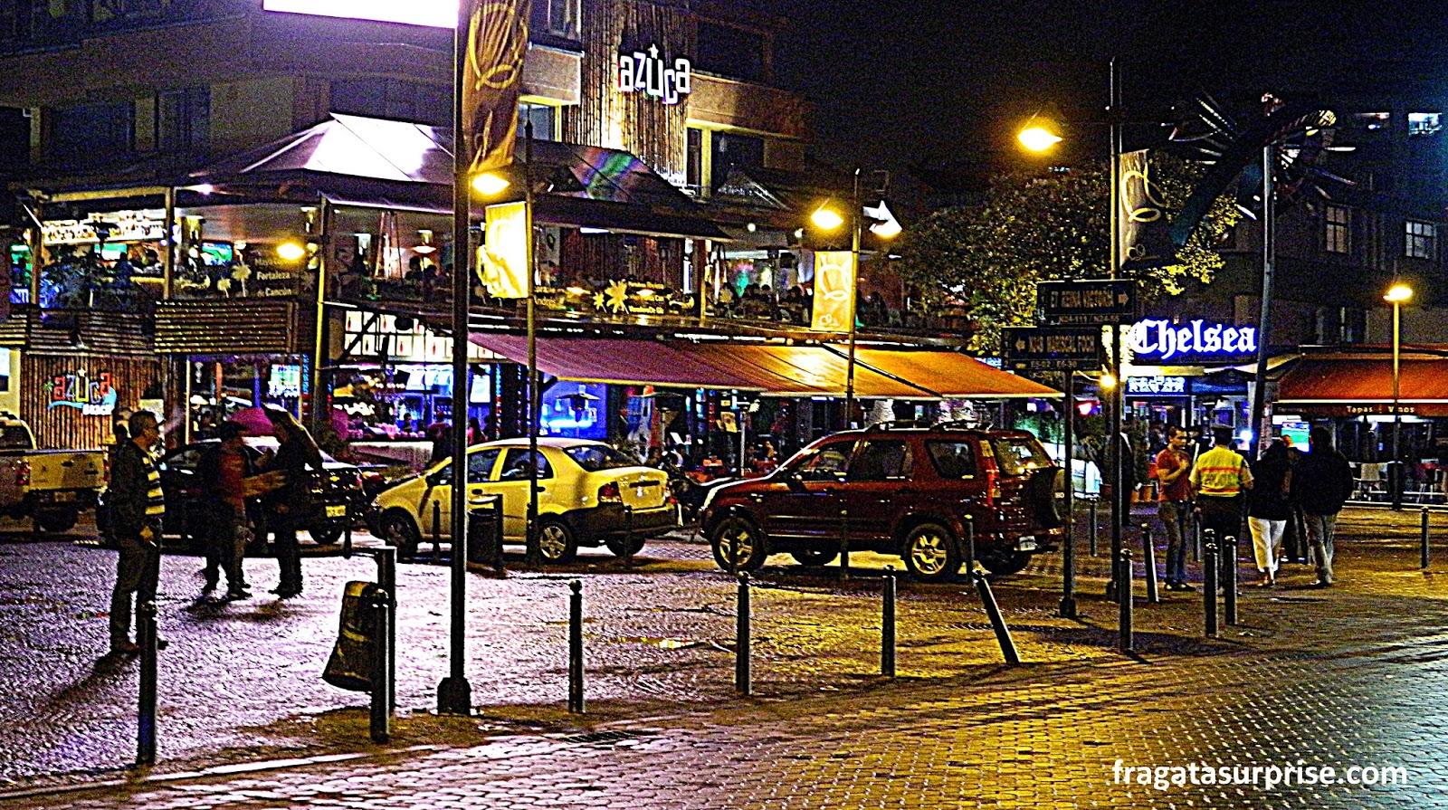 Plaza Foch, La Mariscal, Quito