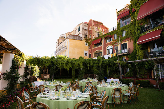 Summer wedding at Hotel Palumbo