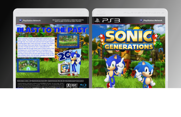 Smart Game: Sonic Generations PS3