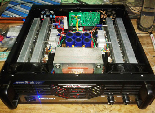 Modifikasi Power Ampli Rakitan - www.divaizz.com