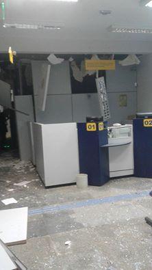Banco do Brasil de Nova Cantu foi alvo de explosões