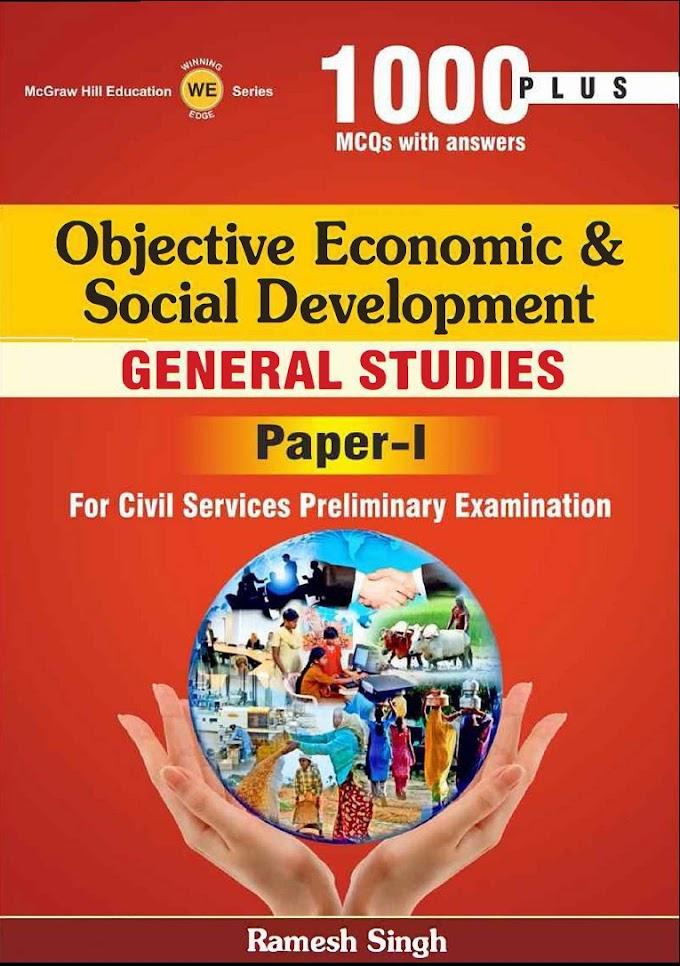 Economic and Social Development by Ramesh Singh - Download pdf