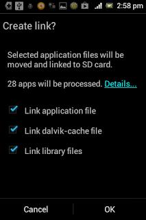 Cara Memindahkan Aplikasi ke SD Card Menggunakan Link2SD