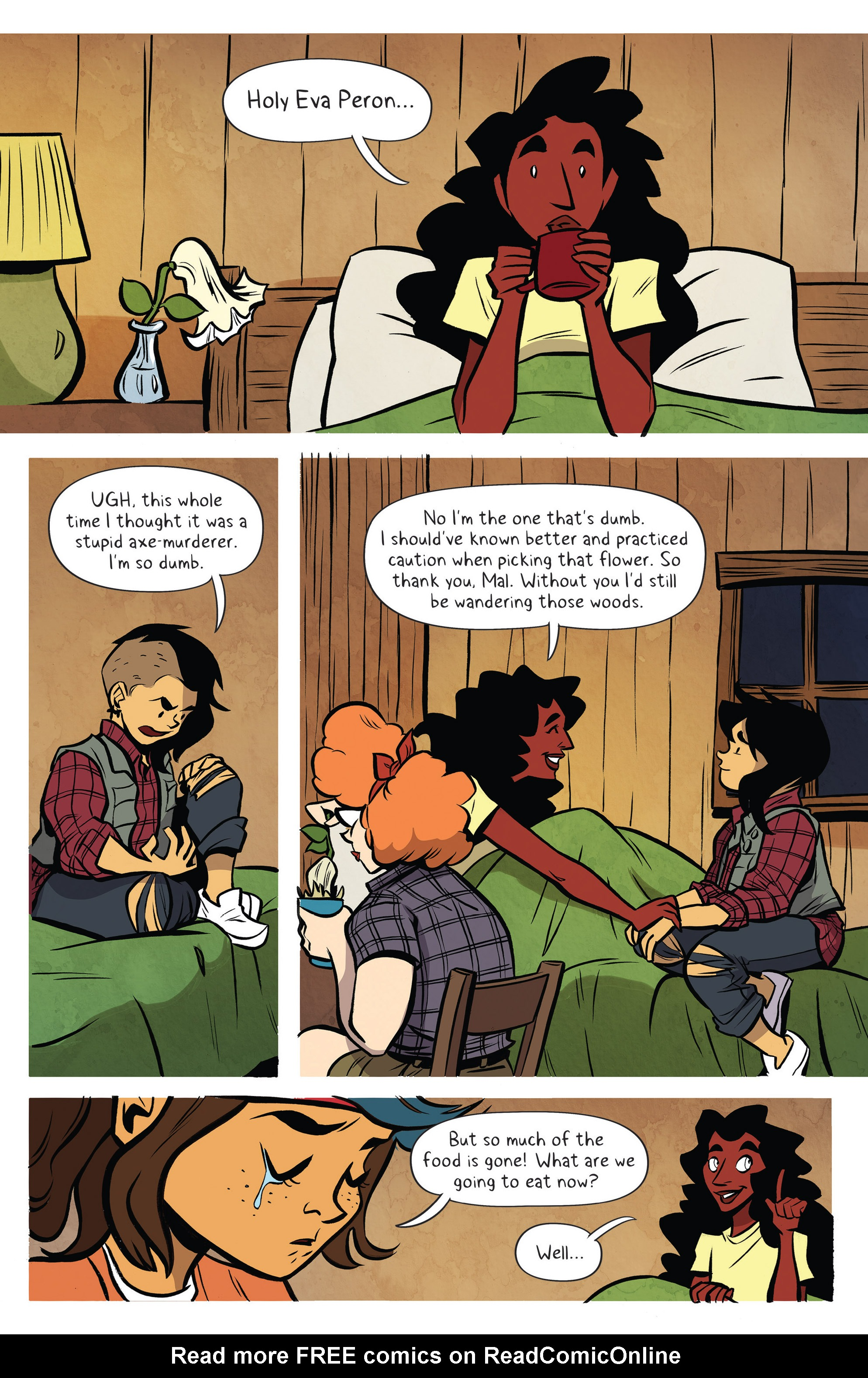 Read online Lumberjanes: Makin' the Ghost of It 2016 Special comic -  Issue # Full - 33
