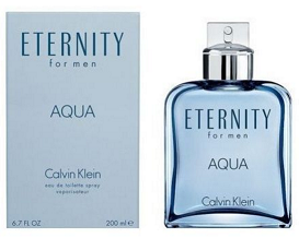 Eternity Aqua by Calvin Klein 6.7 oz EDT Cologne