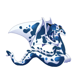 Appearance of Rorschach Dragon when adult