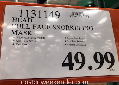 Deal for the Head Full-Face Snorkeling Mask at Costco