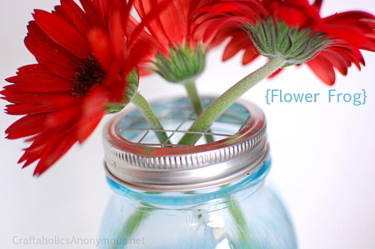 Mason Jar Table Decorations for Flowers