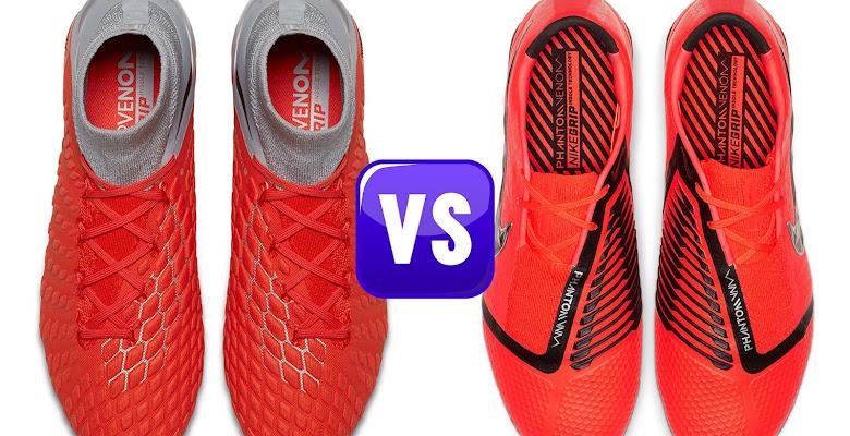 ef622491bf83 Discontinued Nike Hypervenom vs All-New Nike Phantom VNM Boots